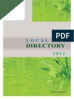 Myanmar LNGO Directory 2012