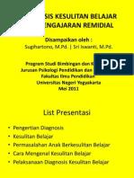 03-04 Diagnosis Kesulitan Belajar Dan Pengajaran Remidial