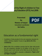 Right To Education,2009