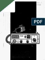 Icom ICB1050 CB radio user instruction manual