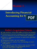itroductio  to accounting for MBA