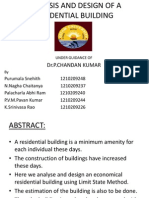 analysis and design of a building