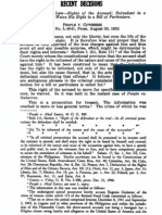 CONSTITUTIONAL LAW RECENT DECISIONS FROM THE PHILIPPINE LAW JOURNAL