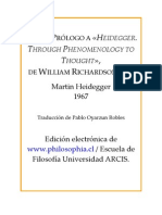 Heidegger Carta Prlogo a Richardson