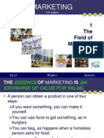 Field of Marketing