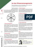 Wissensblitz 97 Komponenten Des Wissensmanagements