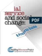 Social Service and Social Change