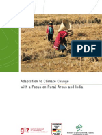 Adaptation to Climate Change - Focus in Rural Area
