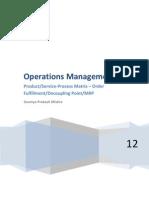 Production management Concepts and basics