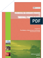 Thermal power plant procedures