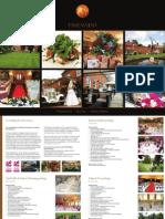 Wedding brochure 2013-2014