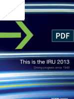 This is the IRU 2013