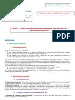FICHE 3 - Les politiques macroéconomiques
