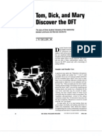 DFT Discrete Fourier transform