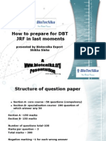 DBT JRf Tips and tricks