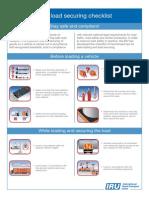 Safe Load Securing Checklist