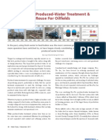 Advanced Produced-Water Treatment & Reuse For Oilfields
