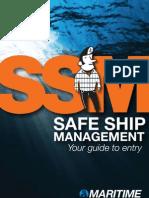 SSM - Safe ship management