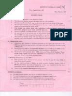 IIT JAM BioTechnology Sample Paper 4