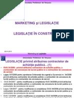 Curs 5 Marketing si Legislatie Constructii