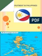 recruitment in philippine
