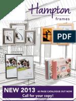 Hampton Frames 2013 Opener