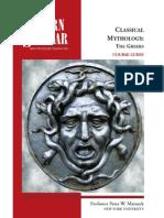 classical mythology the greeks