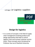 design for Logistics