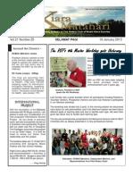 RCBKS Bulletin Vol 21 No 25
