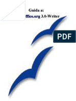 Guida Rapida Open Office Writer