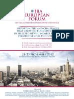 Iba Warsaw 2012_brochure