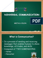 The nonverbal communation