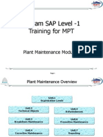 SAP PM Level-1 Material