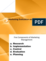adbms marketing evaluation and control.ppt