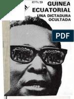 Frente Anti-Macías, and Lliga dels Drets dels Pobles (Sabadell), Guinea Ecuatorial