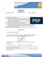 topper 12 sample paper