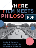 Jean-Luc Godard and the Code of Objectivity -- excerpt from Where Film Meets Philosophy