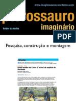 Pesquisa, construção e montagem do Pterossauro Imaginário