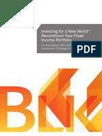 Reconstruct Your Fixed Income Portfolio