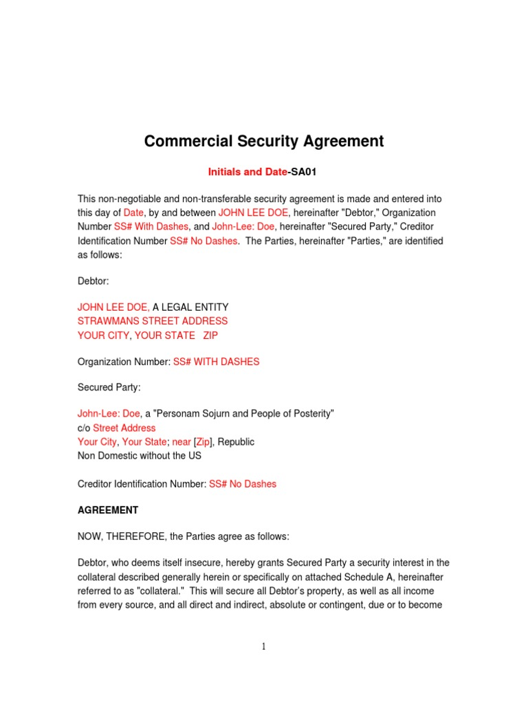 1509533706 – Security Agreement
