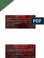 AO Brochure Inserts (Franchising)