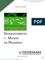 Cap 6 Establecimiento de Praderas Manual Practico Del Ganadero