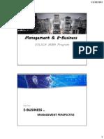 E-Business introduction