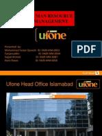 36178894 UFone Presentation HRM Final