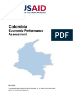 Colombia :Economic Performance Assessment