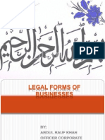 business and its legal forms