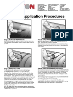 Trenton Corp Wax-tape Application Procedures 2012