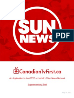 Sun News application for mandatory carriage.