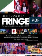 2013 HFF Sponsorship Packet
