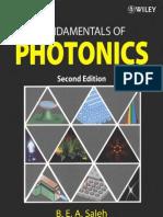 Fundamental of Photonics